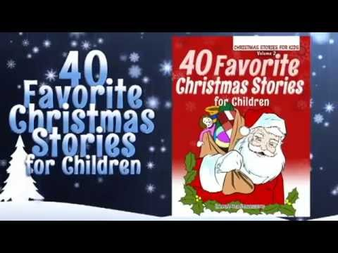 kids christmas book 40 favorite christmas stories for children youtube