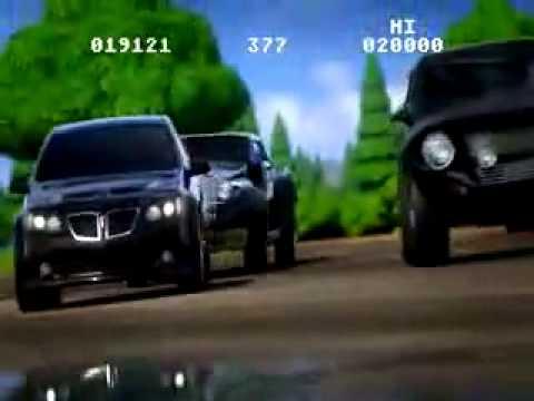 Pontiac G8 commercial
