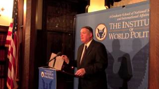 Lecture on Counterintelligence with William Nolte