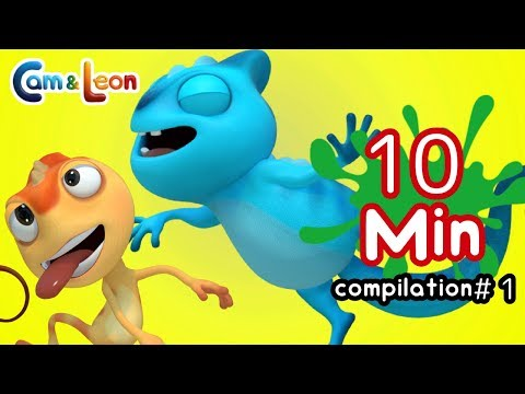 Hilarious Children Cartoon | 10 Minutes Compilation #1 | Cam & Leon