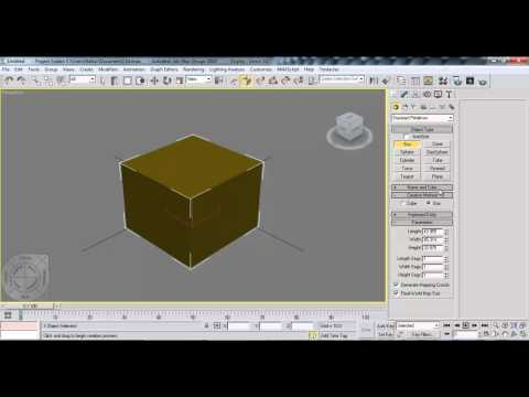 Box Object Modeling on 3ds Max Bangla Tutorial