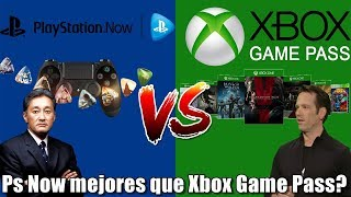 Ps Now vs Xbox Game Pass | Que tanto a mejorado el servicio de SONY?