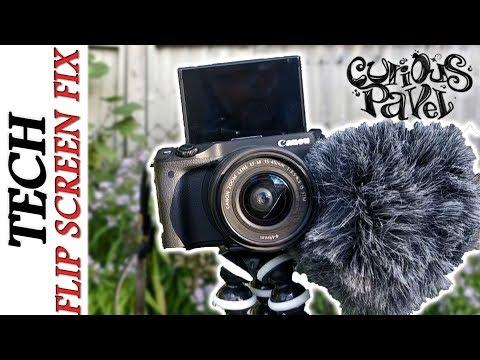 Canon EOS M3 & M6 External Mic Fix, Flip Screen Cameras Solution