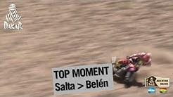 Stage / Etapa / Etape 8 - Paulo Gonçalves crashes and gets back up - (Salta / Belen)