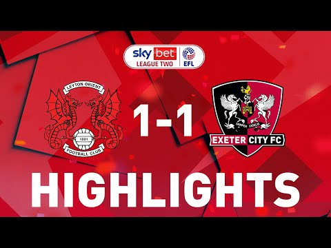 Leyton Orient Exeter City Goals And Highlights