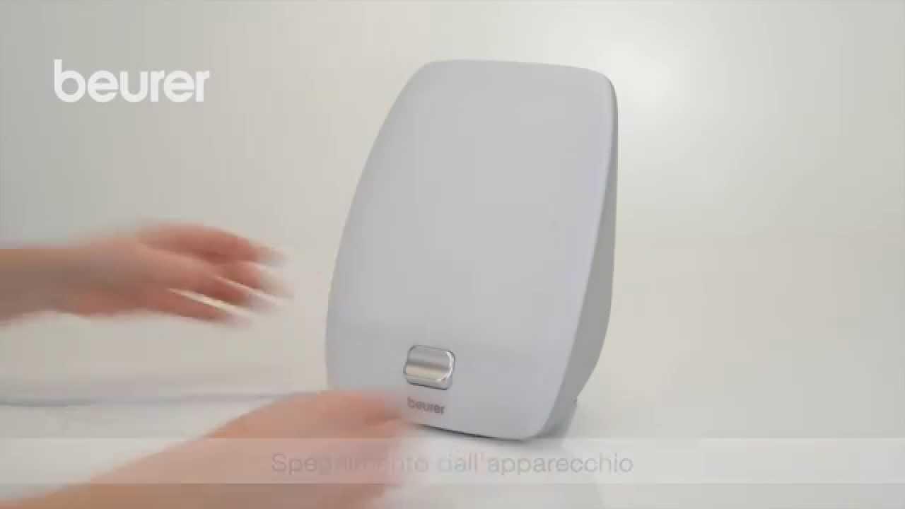 Beurer Tl 40.Quick Start Video Sulla Lampada Di Luce Naturale Del Giorno Tl 40 Di Beurer