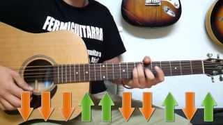 Tema Super Fácil para Guitarra Acústica - Rasgueo Melódico - Balada - FermiGuitarra