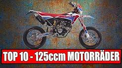 TOP 10 125 CCM MOTORRÄDER 2020