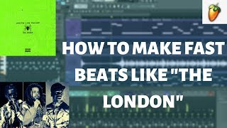 """HOW TO MAKE A FAST BEAT LIKE """"THE LONDON"""" 