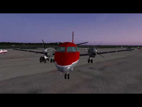 LES Saab 340A - Learning To Fly Swedish - CYTZ-KALB