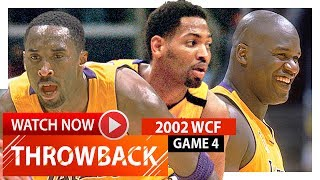 Kobe Bryant, Shaquille O'Neal & Robert Horry WCF Game 4 Highlights vs Kings 2002 Playoffs - EPIC!