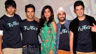 'Fukrey' First Look - Farhan Akhtar at Fukrey First Look Launch