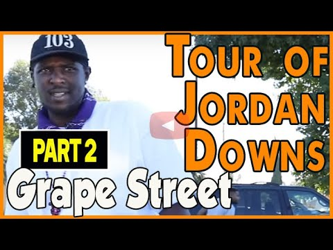 Walk Through The Jordan Downs Projects During Early Demolition With A Grape Street Crip (pt.2of2)