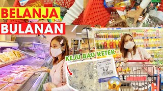 BELANJA BULANAN! KE SUPERMARKET JAMAN NEW NORMAL!