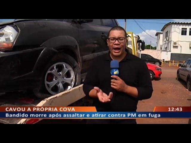 DF ALERTA - Bandido morre após assaltar e atirar contra PM em fuga