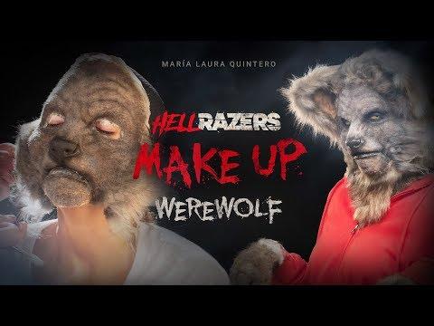 Behind Hellrazers: Maria Laura Quintero se transforma en la mujer lobo más classy