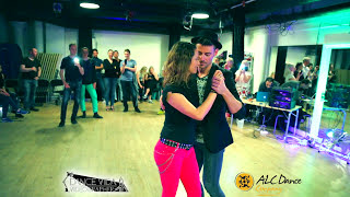 Ricardo and Paula - Afrolatin Connection workshop demo at Dance VIda
