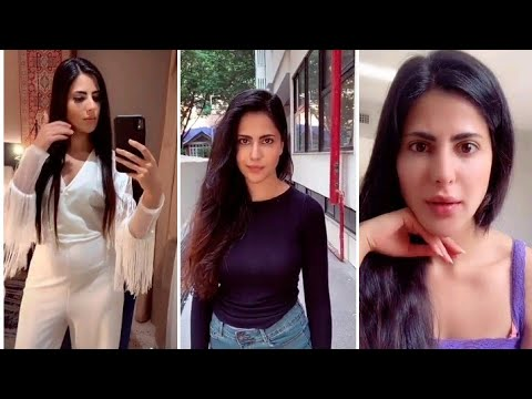 Katrina Kaif's copy Alina Rai tik Tok musically videos ...