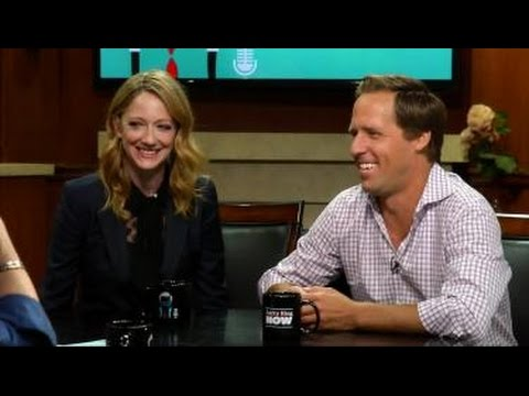 Judy Greer and Nat Faxon on