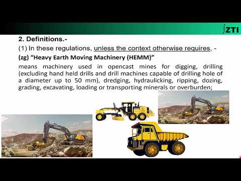 Coal Mines Regulations 2017- Chapter-1 (Definitions)-Part-(3/4)