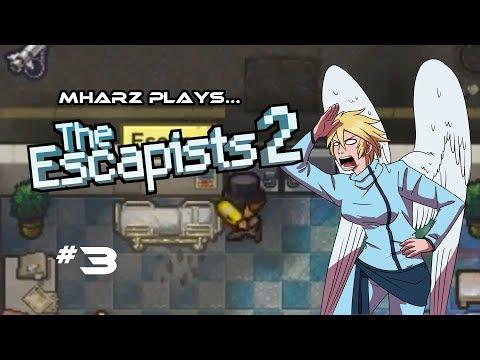 Mharz Plays: The Escapists 2 | MOST ANTI-CLIMACTIC ESCAPE | The Glorious Regime Let's Play Part 3 |