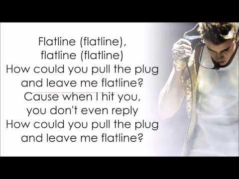 Justin Bieber - Flatline With Lyrics