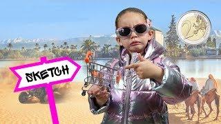 SKETCH - Le mini caddie de tata Habiboucha