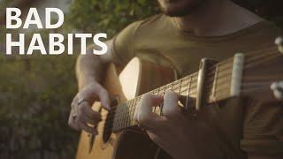 Bad Habits - Ed Sheeran - Cover (Fingerstyle Guitar) видео