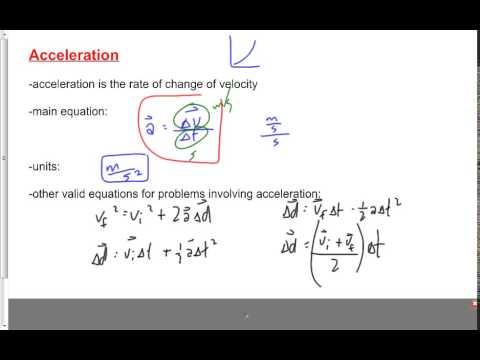 (107-P2015S) Acceleration
