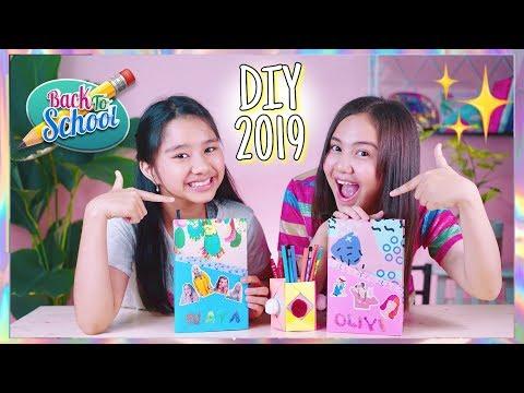 DIY SCHOOL SUPPLIES 2019! Super Easy & Fun Ft. Almeyda Nayara