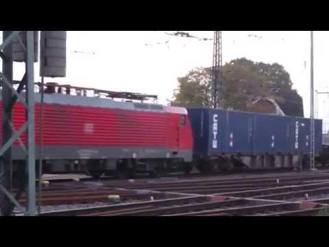 Uranerzkonzentrat rollt am 19.10.15 von Hamburg los