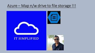 How to Map Network drive to Azure File Storage?
