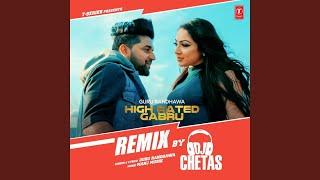 High Rated Gabru Remix (Remix By Dj Chetas)