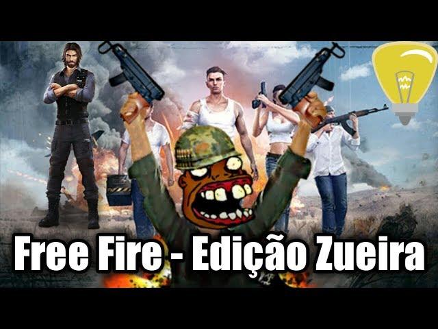 FREE FIRE - EDIÇÃO ZUEIRA| TENTE NÃO RIR