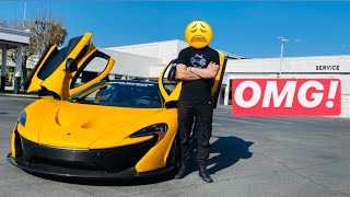 MY MCLAREN P1 WAS CRASHED...