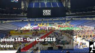 BGA Episode 181 - Gen Con 2018 Review