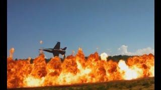 Video Aircraft Bombing Runs - F-18 and B-25 Dropping Bombs download MP3, 3GP, MP4, WEBM, AVI, FLV November 2017