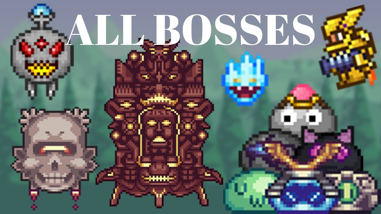 Terraria Afkpet Mod All Bosses Outdated Youtube