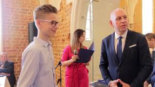 Wręczenie stypendiów burmistrza Działdowa dla najzdolniejszych uczniów