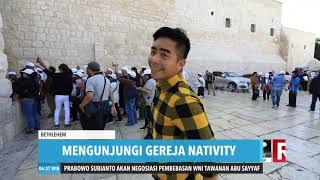 Napak Tilas Tempat Kelahiran Yesus | REDAKSI PAGI (25/12/19)