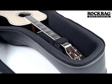 Acoustic Guitar Leather Bag by RockBag