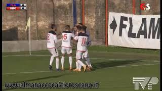 Serie D Girone E Flaminia-Grosseto 2-2