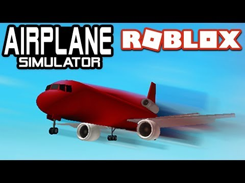 FLYING in AIRPLANE SIMULATOR | ROBLOX