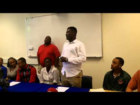 Dudley High School College Signing with Baseball and Football