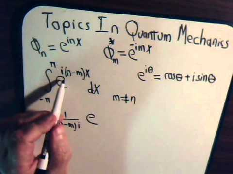 Topics In Quantum Mechanics Video #7: Example Of Orthonormal Function