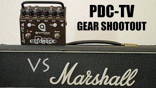 PDC-TV Gear SHOOTOUT: Amptweaker BIG ROCK PRO vs 100w FRIEDMAN modified MARSHALL