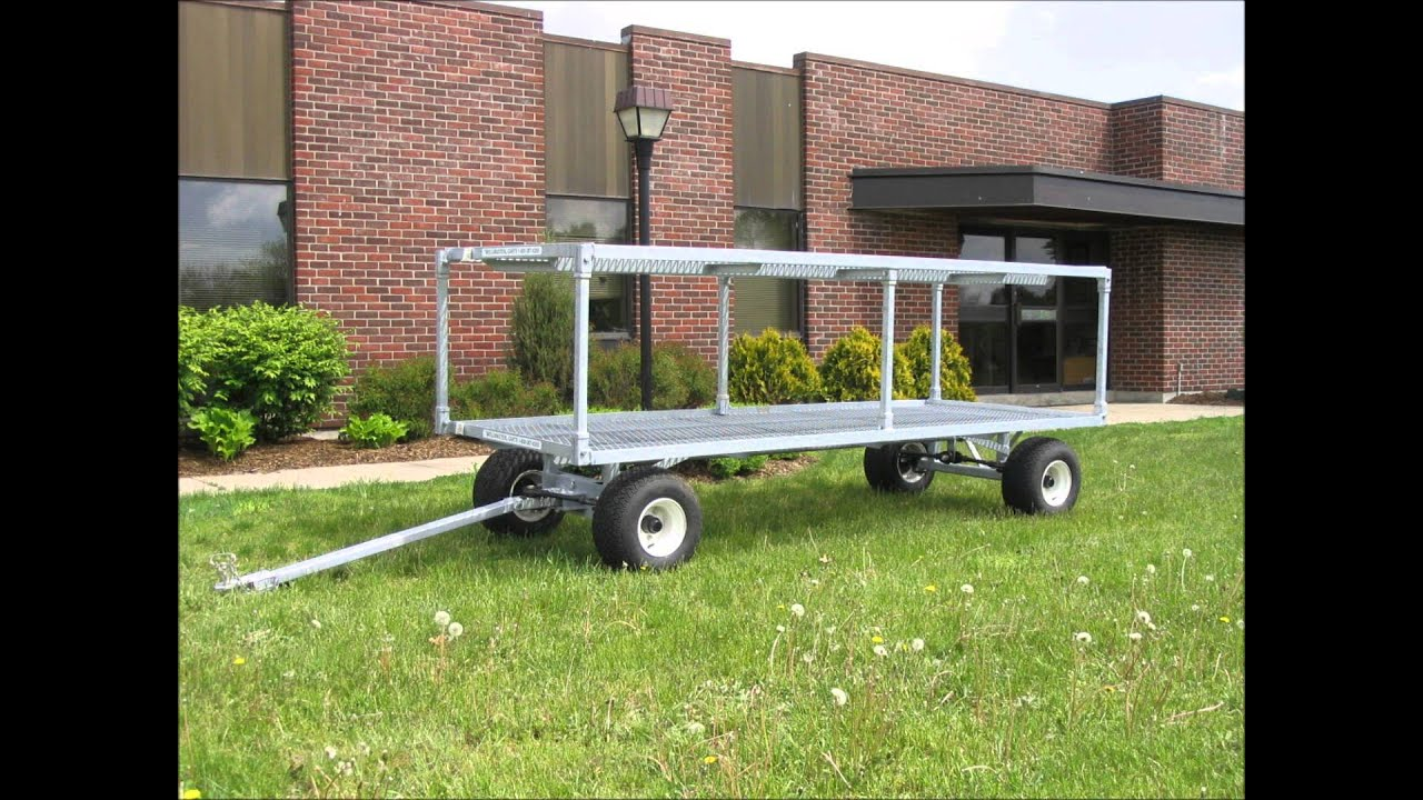 Wellmaster S 4 X 10 Wheel Steering Nursery Wagon