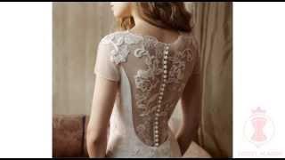 Как сшить свадебное платье с открытой спиной?(Чтобы научиться шить роскошные корсеты, свадебные и вечерние платья, заходите на сайт http://corset.co.il и подписыв..., 2014-10-16T12:56:34.000Z)