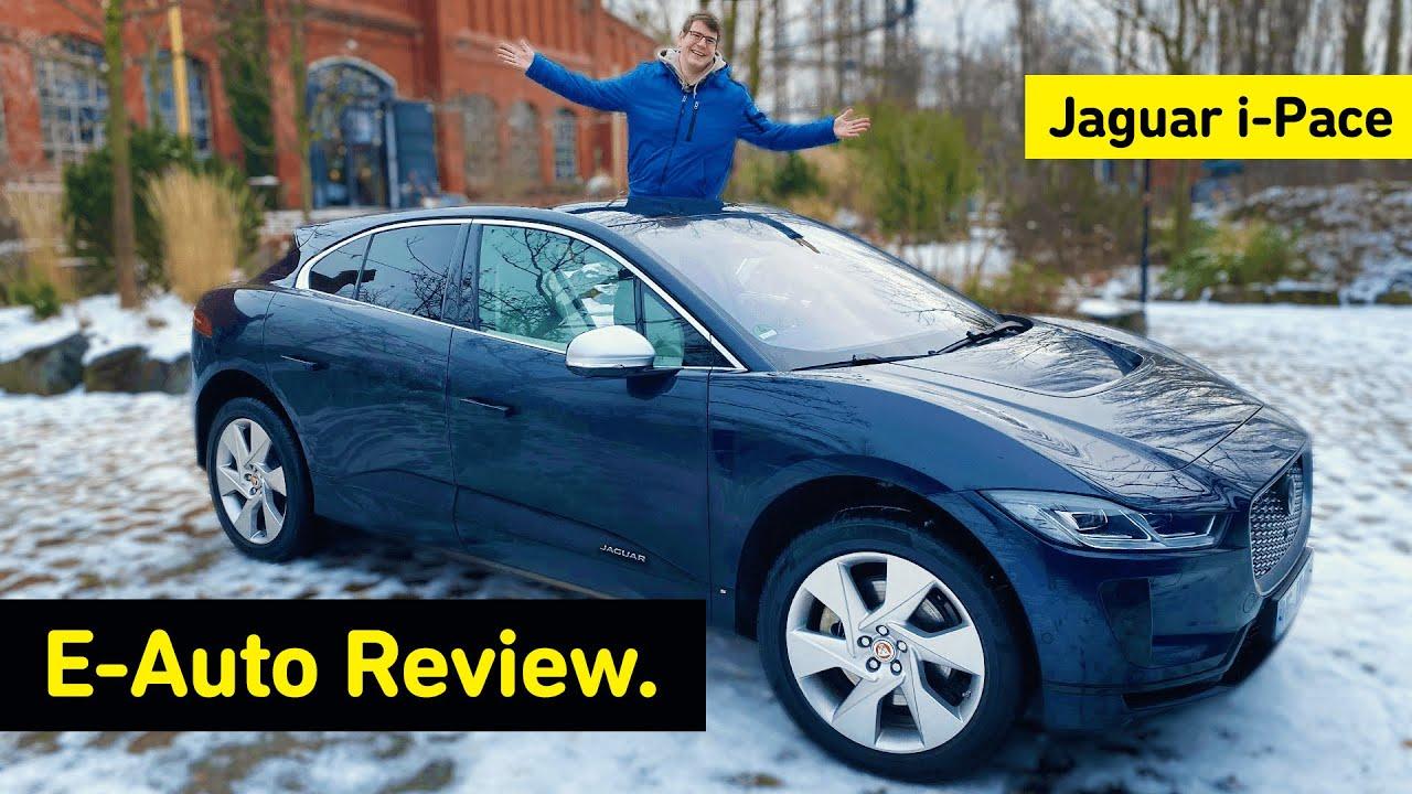 Download Jaguar I-Pace (2021) Test I E-Auto Review mit @Felixba