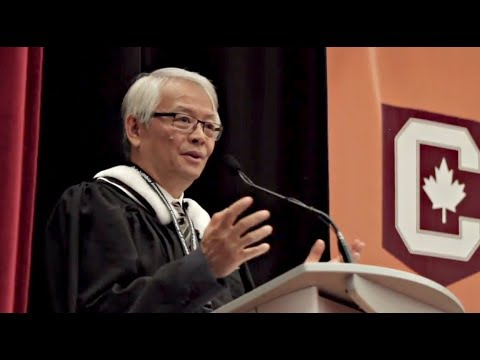 Columbia Executive Director Talks to Dec 2017 Graduates